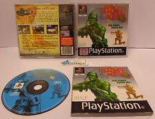 Console Game Gioco PS1 Playstation PSOne PSX Play Soldatini 3DO - ARMY MEN 3D -