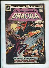French Le Tomb Of Dracula #47/48 ~ Very Hard To Find ~ (Grade 7.0)WH