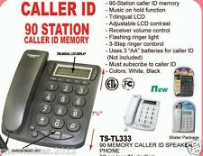 CALLER ID CORDED PHONE SPEAKER PHONE WITH 90 MEMORY