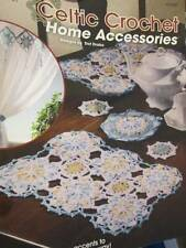 Annie's Attic Celtic Crochet Home Accessories Booklet-12 Designs By Dot Drake
