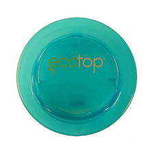 "EcoTop AQUA 3"" Inch Lid Top Cup Cover Travel Coffee Mug Spill-Proof Eco-Friendly"
