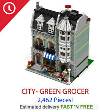 Custom Green Grocer 10185 - NEW Compatible with all LEGO Blocks