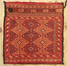 WONDERFUL OLD BAKHTIYARI SUMAK BAG  2.3X2.2 ft