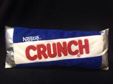 "Nestle Advertising Crunch Chocolate Bar Plush Pillow Candy 14"" NICE!!"