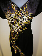SALE! Plus Size 20 (HN-BN) New Dinner Dress Long Dress Party Gown with Sequins