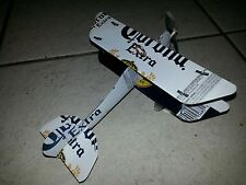 CORONA EXTRA Beer Plane Airplane made from REAL Cans