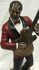 NEW Jazz Band Guitar Player Statue Sculpture Figurine SHIP Immediately!!!