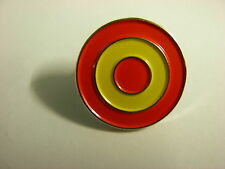 Spanish Roundel pin badge. Lapel badge. MODs. Spanish Airforce. Spain