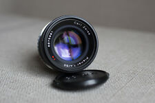 Contax Planar 50mm f/1.4 lens Carl Zeiss , converted to Canon EF