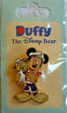 Disney's Sailor Mickey Mouse with Duffy Pin (New)