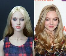 █ KUMIK Amanda Seyfried 1/6 Head Sculpt for Custom Hot Toys Phicen Female Body █