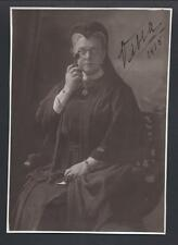Amusing & Rare Signed Photo of Grand Duchess Olga of Russia Queen of Greece 1915
