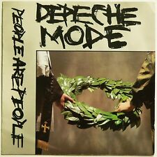 "DEPECHE MODE - PEOPLE ARE PEOPLE & THE MEANING OF LOVE 2 x UK 7"" 45's. VG++ & VG"