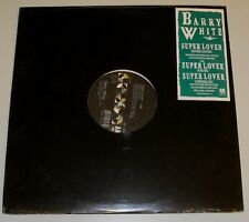 "12"" US**BARRY WHITE - SUPER LOVER (A&M RECORDS '89)***6850"