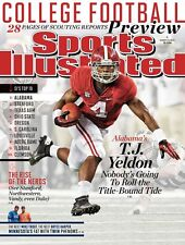 TJ YELDON ALABAMA AUG 2013 SPORTS ILLUSTRATED MAGAZINE MINT NO LABEL ROLL TIDE