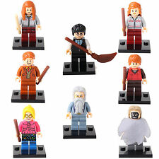 Harry Potter Hermione Ginny Fred Dumbledore Ron 8 Minifigures Building Toys LEGO