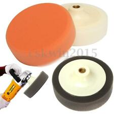 6'' 150mm Car Polishing Head Buffing Mop Pad Sponge Soft Foam M14 Thread Drill