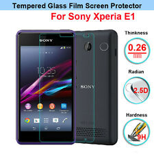 100% GENUINE TEMPERED GLASS SCREEN GUARD PROTECTOR FILM FOR SONY XPERIA E1