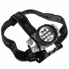 12 LED ULTRA BRIGHT SENTIK HEAD TORCH LIGHT LAMP CAMPING HIKING FISHING LIGHTING