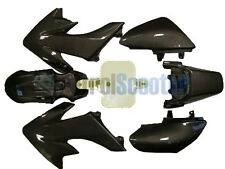 Carbon Fibre Look Pit Dirt Bike PLASTIC Honda CRF50 110cc 125cc Fairing Graphic