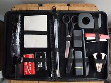 Vtg Travel Office Kit Swingline Tot 50 Stapler Tape Measure Scissors Staples
