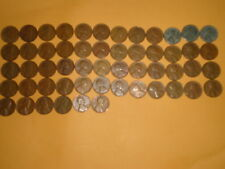 1940-P-D-S  to 1958-P-D  Lincoln Cent full Set ( 54 different coins  #21234