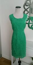 NWT Boden Green Lace Warning Dress Size 10 P BEYOU*