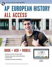 AP® European History All Access Book + Online + Mobile (Advanced Placement (AP)