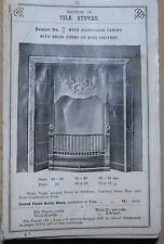 VINTAGE PRICE LIST / CATALOGE 1100 PAGES OF STOVE,GAS LIGHT FITTINGS, BUILDERS