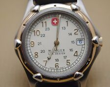 Wenger Swiss made SAK Design men's watch.Fantastic 2-tone case.