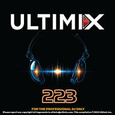 Ultimix 223 CD Ultimix Records Ellie Goulding Maroon 5 Demi Lovato DNCE Sia