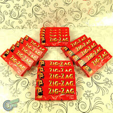 ZIGZAG ZIG ZAG Classic Cigarette Tobacco Rolling Paper Papers Roller Roll Red