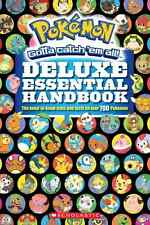 Pokemon Paperback Handbook Deluxe Essential New 2015 by Scholastic FREE SHIPPING
