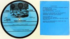 "PATRICK O'KEEFFE & RICHARD CARBAJAL picdisc 7"" 45 Silhouette BLUE VALENTINE A526"