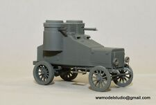 WWI Fiat Omsky 1919 Russian Japanese Armoured Car 1/35 Resin Criel Panzershop
