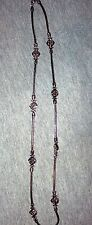 HTF PREMIER DESIGNS SAN BENITO NECKLACE ANTIQUED  TWO TONE SILVER & GOLD PLATED
