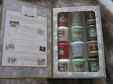 YANKEE CANDLE WINTER WONDERLAND VOL.1 12 VOTIVES BOOK NEW BEAUTIFUL RARE