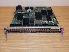 Cisco WS-X6748-GE-TX 48-Port GIGABIT Catalyst Switch Module + WS-F6K-DFC4-A