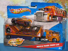 HOT WHEELS MUSCLE MANIA SHOW CAR 2 PACK ***BRAND NEW & RARE***