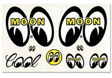 Mooneyes Sticker Pack Eyes Cool Moon Stickers Decal VW Beetle Hotrod American