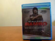 Rambo (Blu-ray Disc, 2010, 2 Disc Special Edition) - Free Shipping - No UV