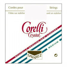 Corelli Crystal Violin String Set 4/4  E Loop  Medium