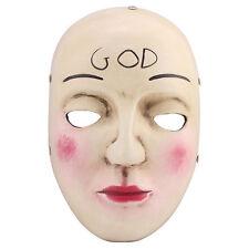 La rimozione 2 Costume Horror Costume Maschera per adulti cosplay Anarchy in resina di Dio