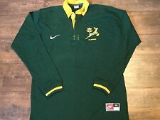 1998 1999 South Africa L/s Rugby Union Shirt Adults XL Springboks Jersey