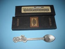 1999 HARLEY DAVIDSON PEWTER CHRISTMAS SPOON,1957 SPORTSTER LIMITED 1060 OF 7,500