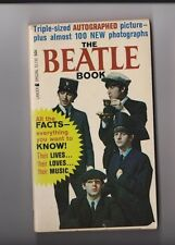 Vintage 1964 Lancer PB The Beatle Book W/Mini Poster Included