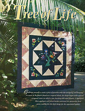 Tree Of Life Quilt Pattern Pieced/Applique BS