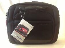 Samsonite Xenon Laptop Portfolio Black Red New Shock Absorber System 36416 1074