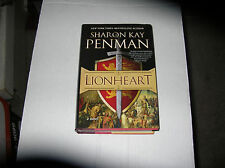 Lionheart by Sharon Kay Penman (2011, Hardcover) SIGNED 1st/1st