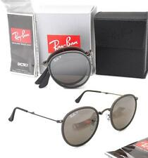 Folding Ray-Ban RB 3517 029/N8 51mm Matte Gunmetal with Grey Polarized Mirror